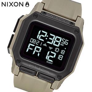 NIXON ニクソン 腕時計 Regulus レグルス デジタル オールサンド ポリウレタン メンズ A11802711|bellmart