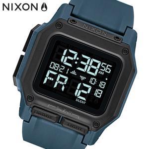 NIXON ニクソン 腕時計 Regulus レグルス デジタル ダークスレート ポリウレタン メンズ A11802889|bellmart