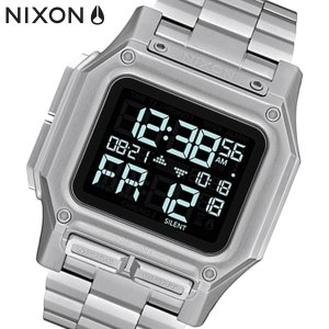 NIXON ニクソン 腕時計 Regulus SS レグルスSS デジタル ステンレス シルバー メンズ A1268000|bellmart