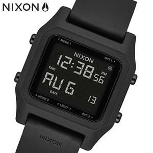 NIXON ニクソン 腕時計 Staple ステープル デジタル オールブラック A1309000|bellmart