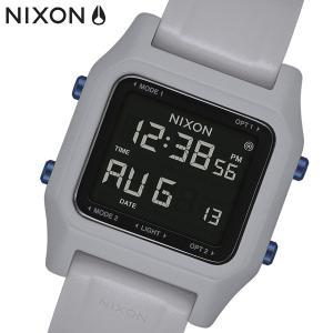 NIXON ニクソン 腕時計 Staple ステープル デジタル Light Gray A1309135|bellmart