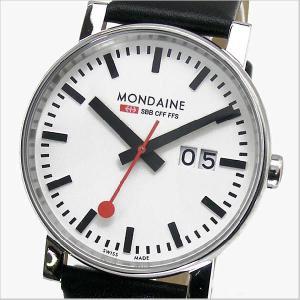 モンディーン MONDAINE 腕時計 メンズ ビッグデイト/ビッグサイズ A627.30303.11SBB|bellmart