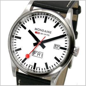 モンディーン MONDAINE 腕時計 メンズ スポーツライン デイデイト A667.30308.16SBB|bellmart