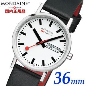 モンディーン MONDAINE 腕時計 メンズ ニュークラシック デイデイト A667.30314.11SBB|bellmart