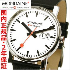 モンディーン MONDAINE 腕時計 メンズ  エヴォ ビッグデイト A669.30300.11SBB|bellmart