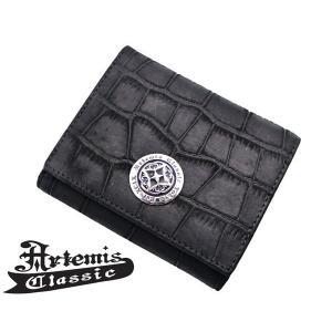 アルテミスクラシック Artemis Classic ショートウォレットヌバッククロコスタイル 財布 ACSW0001|bellmart