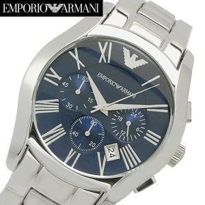 エンポリオ アルマーニ EMPORIO ARMANI 腕時計 クロノグラフ・メンズ  ネイビー文字盤 AR1635|bellmart
