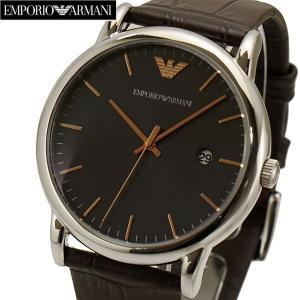 エンポリオ アルマーニ EMPORIO ARMANI メンズ 腕時計 牛革ベルト AR1996|bellmart