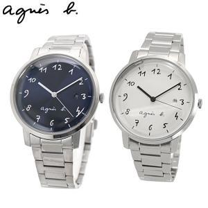 アニエスベー agnes b. ペアウォッチ(2本セット) 腕時計 38mm ユニセックス メンズ/レディース マルチェロ Marcello BG8005X1 BG8006X1 (FCRK990 FCRK991)|bellmart