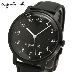 アニエスベー agnes b. 腕時計 メンズ マルチェロ オールブラック BG8009X1|bellmart