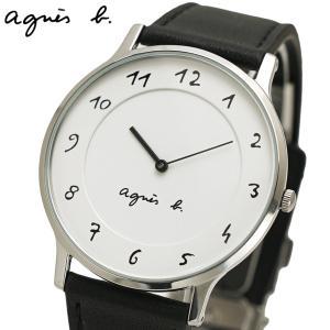 アニエスベー agnes b. 腕時計 メンズ マルチェロ ホワイト文字盤 BJ5004X1|bellmart