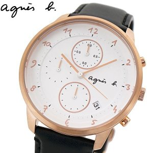 アニエスベー agnes b. 腕時計 メンズ クロノグラフ マルチェロ BM3017J1 FBRW989|bellmart
