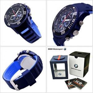 アイスウォッチ ICE WATCH  腕時計  BMW ビーエムダブリュ モータースポーツ クロノグラフ/ダーク & ライトブルー・ビッグ BM.CH.BLB.BS|bellmart|03