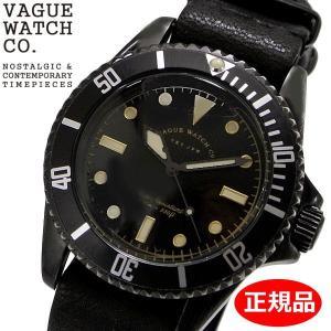 クリーナープレゼント VAGUE WATCH Co. ヴァーグ ウォッチ カンパニー 腕時計 ブラック サブ 40mm メンズ ステンレスベルト BS-L-N001|bellmart
