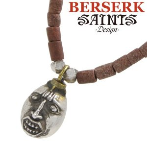 SAINTS セインツ BERSERK ベルセルク ベヘリット 蝕 シルバーペンダント ブラウンジェイドネックレス BSS-P-02 正規品|bellmart