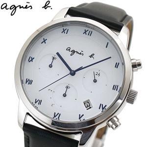 アニエスベー agnes b. 腕時計 ソーラー クロノグラフ メンズ マルチェロ BZ5001P1 FBRD942|bellmart