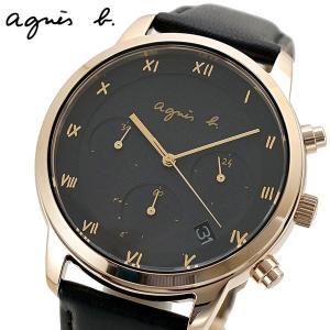 アニエスベー agnes b. 腕時計 ソーラー クロノグラフ メンズ マルチェロ BZ5002P1 FBRD941|bellmart