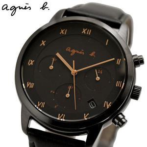 アニエスベー agnes b. 腕時計 ソーラー クロノグラフ メンズ マルチェロ BZ5004P1|bellmart