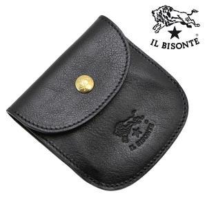 イルビゾンテ IL BISONTE コインケース 小銭入れ ブラック メンズ レディース C0431P-153|bellmart