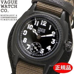 クリーナープレゼント VAGUE WATCH Co. ヴァーグ ウォッチ カンパニー 腕時計 COUSSIN MIL クッサン ミリタリー メンズ レディース ユニセックス CO-L-007-09BK|bellmart