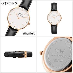 国内正規品 ダニエルウェリントン Daniel Wellington 腕時計  レディース Classic PETITE/クラシック ペティット 28mm レザーベルト|bellmart|03