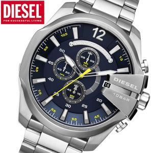 ディーゼル DIESEL クロノグラフ腕時計 メガチーフMEGA CHIEF メンズ DZ4465|bellmart