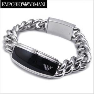 エンポリオ アルマーニ EMPORIO ARMANI ブレスレット/ステンレス・メンズ EGS1729040|bellmart
