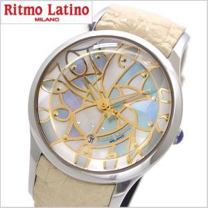 リトモラティーノ Ritmo Latino  腕時計 フィーノ・レギュラーサイズ レディース シェル(白蝶貝)文字盤/ワニ革 F-20MOP bellmart