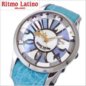 リトモラティーノ Ritmo Latino  腕時計 フィーノ・レギュラーサイズ レディース シェル(白蝶貝)文字盤/ワニ革 F-50MOP bellmart