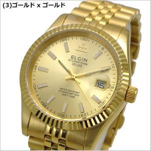 ELGIN エルジン 腕時計 ウォッチ メンズ FK1422TG-G FK1422TG-B FK1422G-G FK1422G-B|bellmart|04