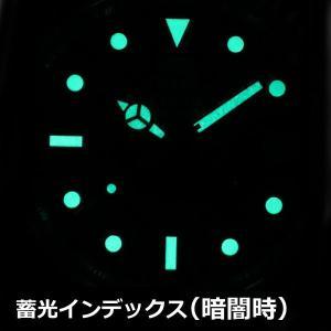 エルジン ELGIN ソーラー ダイバー腕時計 20気圧防水 太陽電池 メンズ 男性用 FK1426S|bellmart|06