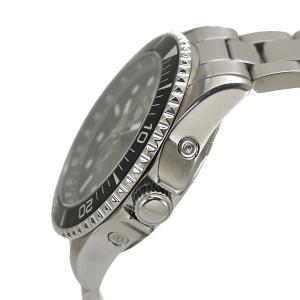 エルジン ELGIN 電波ソーラーウォッチ 腕時計 10気圧防水 太陽電池 メンズ 男性用 ブラック文字盤 FK1427S-BP|bellmart|03