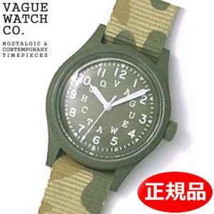 クリーナープレゼント VAGUE WATCH Co. ヴァーグ ウォッチ カンパニー 腕時計 ミリタリー 替えバンド付 GD-L-001|bellmart