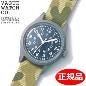 クリーナープレゼント VAGUE WATCH Co. ヴァーグ ウォッチ カンパニー 腕時計 ミリタリー 替えバンド付 GD-L-002|bellmart