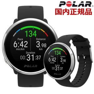 POLAR ポラール IGNITE イグナイト WATCH 手首型心拍計 GPS内蔵 スマートウォッチ 腕時計 ブラック x シルバー IGNITE BKSV ML bellmart