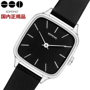 KOMONO コモノ 腕時計 KATE Black Silver ケイト ブラックシルバー レディース KOM-W4252 bellmart