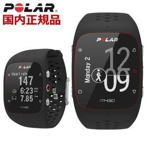 POLAR ポラール GPS RUNNING WATCH 手首型心拍計 GPS内蔵 スマートウォッチ 腕時計 ブラック ユニセックス メンズ レディース M430 BK ML bellmart