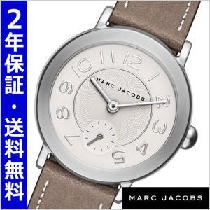 マークジェイコブス MARC JACOBS 腕時計 ライリー RILEY 36mm/ホワイト x グレー ユニセックス・メンズ レディース MJ1468|bellmart