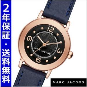 マークジェイコブス MARC JACOBS 腕時計 ライリー RILEY 28mm/ブラック x ネイビー レディース MJ1577|bellmart