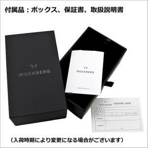 国内正規品 モックバーグ MOCKBERG 腕時計 Sigrid Petite レディース 28mm ブラック レザーベルト ホワイト文字盤 シルバー MO202|bellmart|06