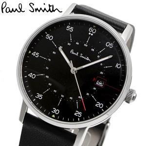 ポールスミス Paul Smith 腕時計 メンズ ゲージ Gauge ブラック文字盤 P10071|bellmart