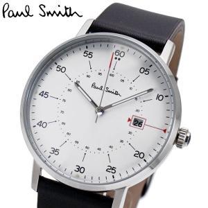 ポールスミス Paul Smith 腕時計 メンズ ゲージ Gauge ホワイト文字盤 P10072|bellmart