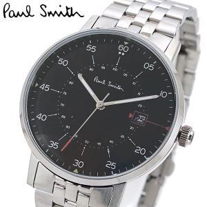 ポールスミス Paul Smith 腕時計 メンズ ゲージ Gauge ブラック文字盤 P10073|bellmart