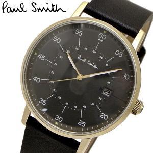 ポールスミス Paul Smith 腕時計 メンズ ゲージ Gauge グレー文字盤 P10076|bellmart