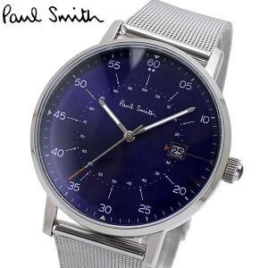 ポールスミス Paul Smith 腕時計 メンズ ゲージ Gauge ネイビー文字盤 P10078|bellmart