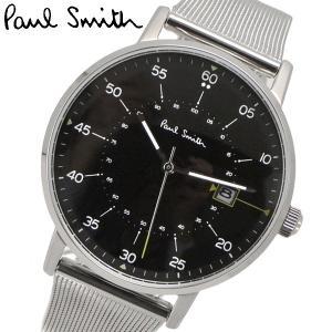ポールスミス Paul Smith 腕時計 メンズ ゲージ Gauge ブラック文字盤 P10131|bellmart