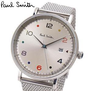 ポールスミス Paul Smith 腕時計 メンズ ゲージ Gauge シルバー文字盤 PS0060001|bellmart