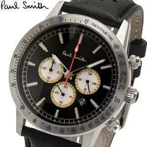 ポールスミス Paul Smith 腕時計 メンズ クロノグラフ ブラック文字盤 PS0110001 bellmart