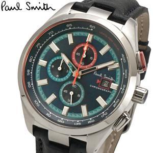 ポールスミス Paul Smith 腕時計 メンズ クロノグラフ ブルー文字盤 Chrono44 PS0110012 bellmart