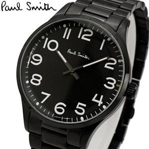 ポールスミス Paul Smith 腕時計 メンズ ブラック文字盤 P10066 bellmart